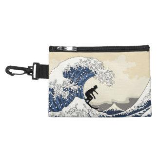 The Great Surfer of Kanagawa Accessory Bag