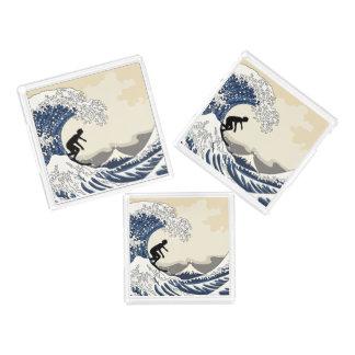 The Great Surfer of Kanagawa Acrylic Tray