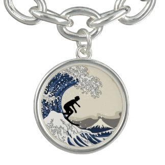 The Great Surfer of Kanagawa Bracelet