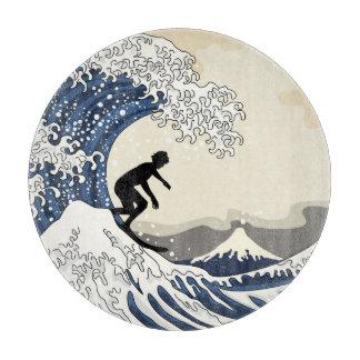 The Great Surfer of Kanagawa Cutting Board
