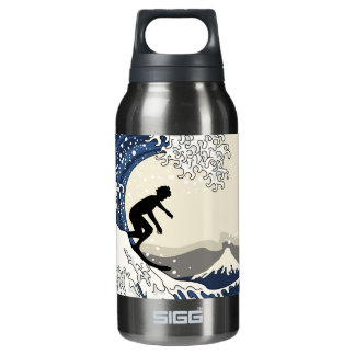 The Great Surfer of Kanagawa Insulated Water Bottle