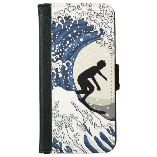 The Great Surfer of Kanagawa iPhone 6 Wallet Case