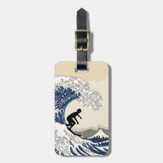 The Great Surfer of Kanagawa Luggage Tag