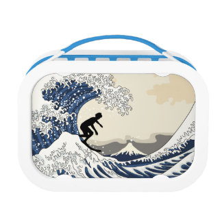 The Great Surfer of Kanagawa Lunch Boxes
