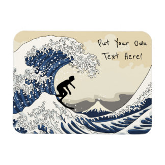 The Great Surfer of Kanagawa Magnet
