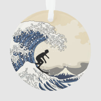 The Great Surfer of Kanagawa Ornament