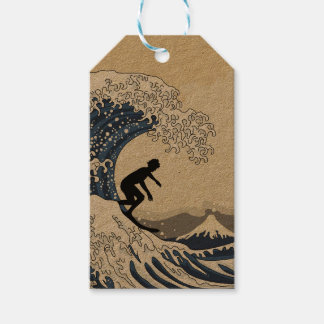 The Great Surfer of Kanagawa Pack Of Gift Tags