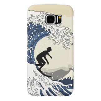 The Great Surfer of Kanagawa Samsung Galaxy S6 Cases