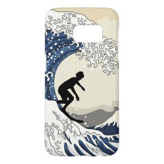 The Great Surfer of Kanagawa Samsung Galaxy S7 Case