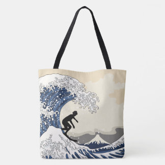 The Great Surfer of Kanagawa Tote Bag