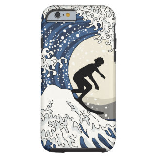 The Great Surfer of Kanagawa Tough iPhone 6 Case