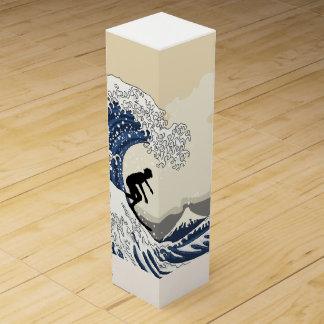 The Great Surfer of Kanagawa Wine Box