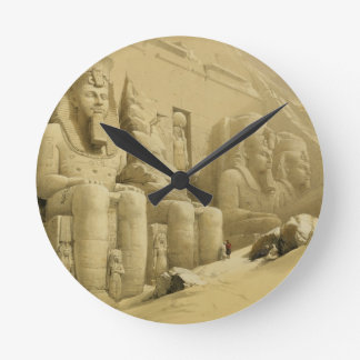 """The Great Temple of Abu Simbel, Nubia, from """"Egypt Clock"""