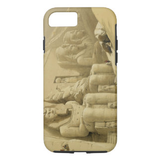 "The Great Temple of Abu Simbel, Nubia, from ""Egypt iPhone 7 Case"