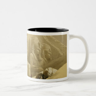 """The Great Temple of Abu Simbel, Nubia, from """"Egypt Coffee Mugs"""