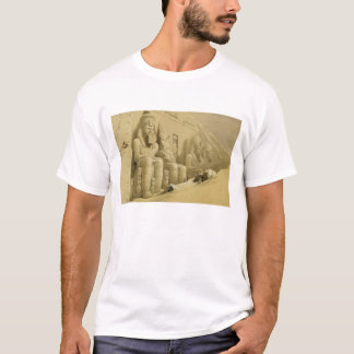"""The Great Temple of Abu Simbel, Nubia, from """"Egypt T-Shirt"""