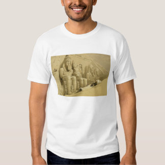"""The Great Temple of Abu Simbel, Nubia, from """"Egypt Tee Shirts"""