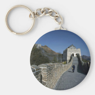 The Great Wall, Beijing, China Keychain