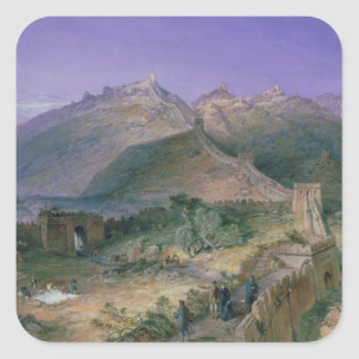 The Great Wall of China, 1886 (w/c) Sticker