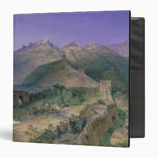 The Great Wall of China, 1886 (w/c) Vinyl Binder