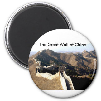 The Great Wall of China 2 Inch Round Magnet