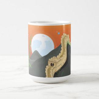 The Great Wall of China Basic White Mug