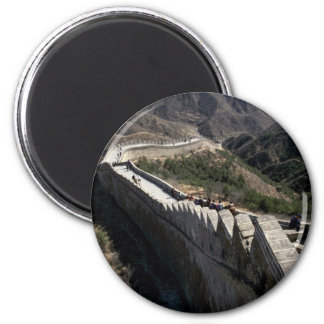 The Great Wall of China, Beijing, China 2 Inch Round Magnet