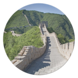 The Great Wall of China in Beijing, China Dinner Plates