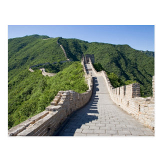 The Great Wall of China in Beijing, China Postcard