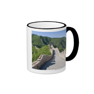 The Great Wall of China in Beijing, China Ringer Coffee Mug