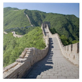 The Great Wall of China in Beijing, China Tiles