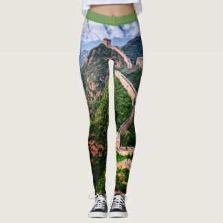 The Great Wall Of China Leggings