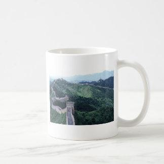The Great Wall of China near Beijing Basic White Mug