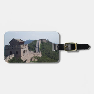 The great wall of china souvenier luggage tag