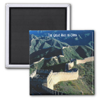 The Great Wall of China Square Magnet
