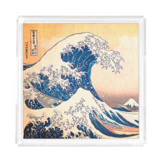 The Great Wave Acrylic Tray