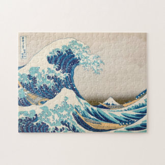 The Great Wave at Kanagawa Puzzle
