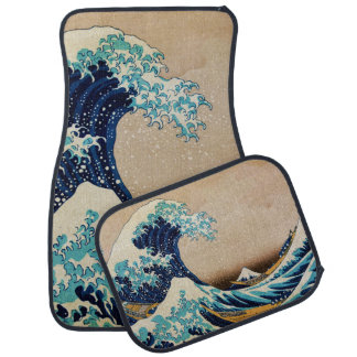 The Great Wave by Hokusai Japanese Auto Mat