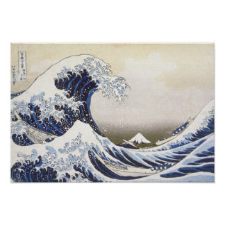 The Great Wave by Hokusai Poster