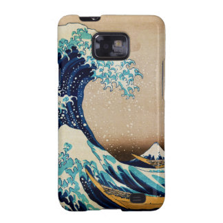 The Great Wave by Hokusai Vintage Japanese Samsung Galaxy SII Cases