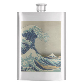 The Great Wave Flasks