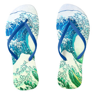 The Great Wave Flip Flops