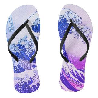 The Great Wave Flip Flops
