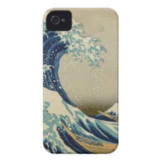 The Great Wave Kanagawa iPhone 4 Covers