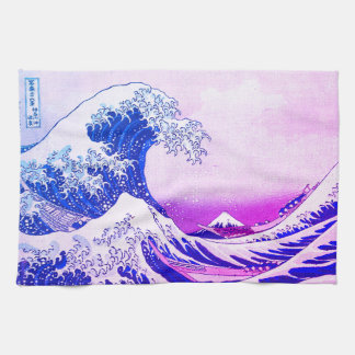 The Great Wave Kitchen Towel