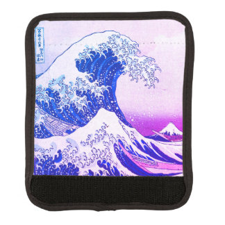 The Great Wave Luggage Handle Wrap