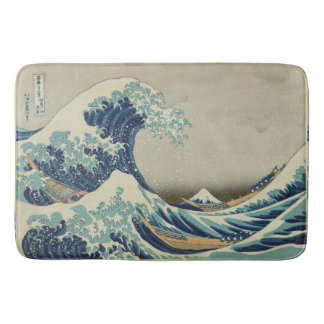 The Great Wave Mt Fuji Bath Mat
