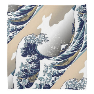 The Great Wave of Kanagawa Bandana