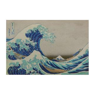 The Great wave of Kanagawa By Hokusai Acrylic Wall Art