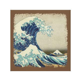 The Great Wave off Kanagawa (神奈川沖浪裏) Canvas Print